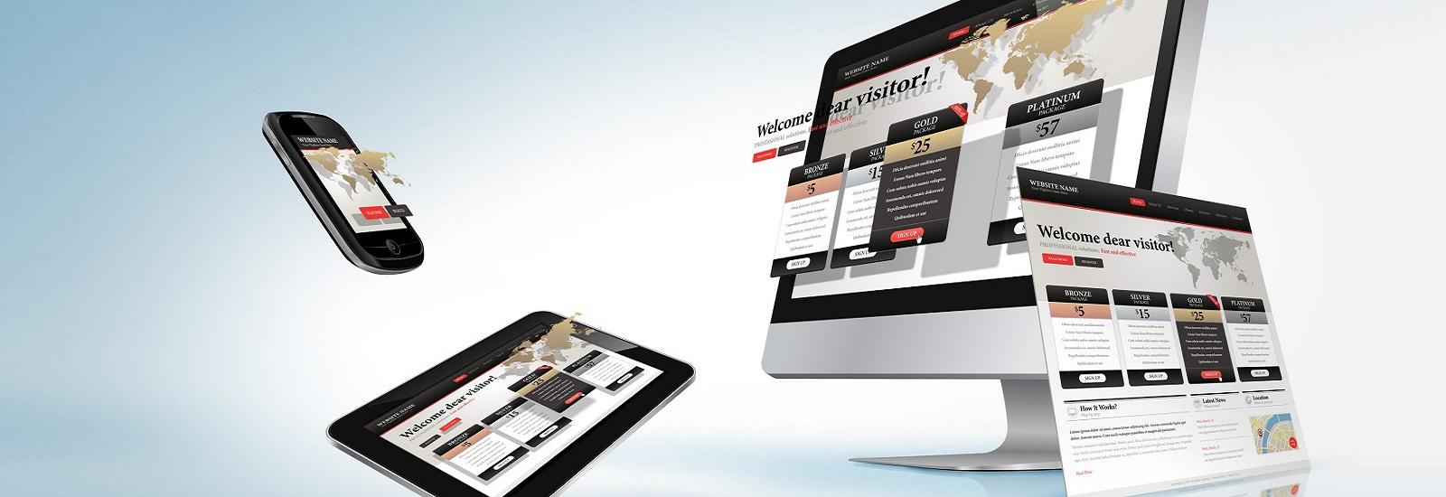 responsive-web-design-concept-slider-banner