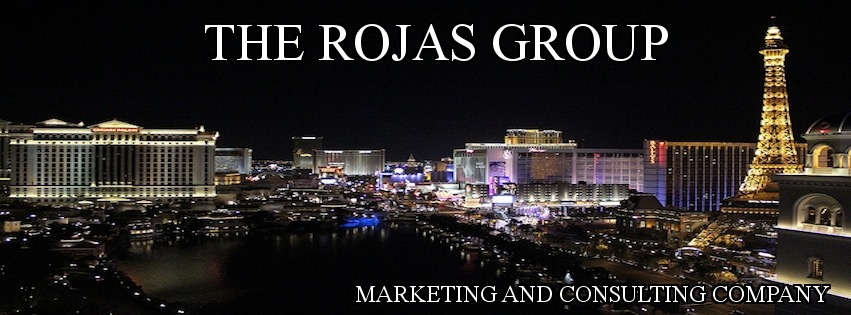 The Rojas Group Nighttime Las Vegas Skyline
