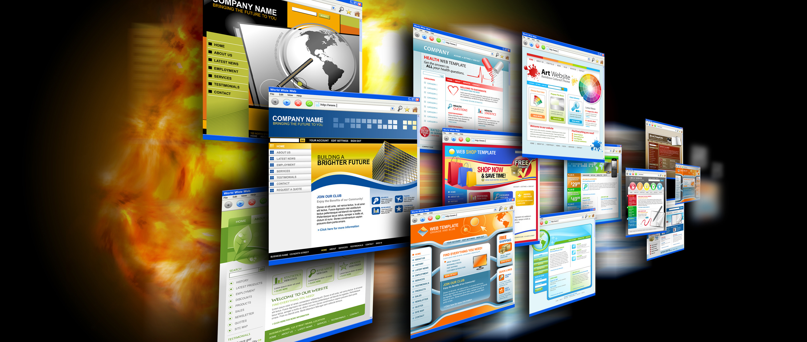 Image of Sample Websites