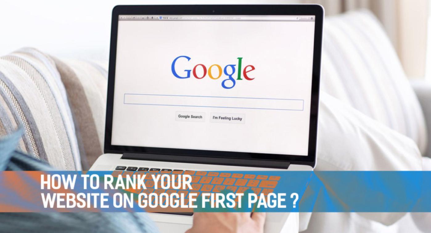 Google Website Ranking Banner Image