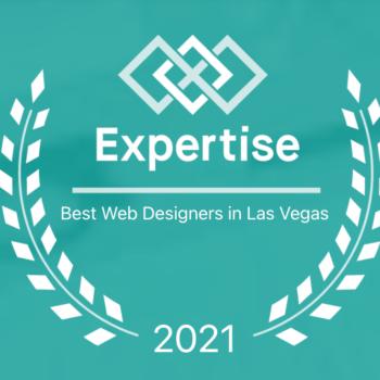 Best Web Designer in Las Vegas 2021 Expertise Badge