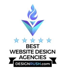 Best Website Design Agencies From Design Rush Award Logo