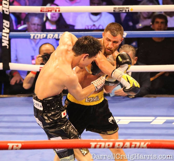 Top Rank Boxing photo by The Rojas Group