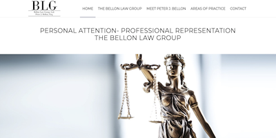 Bellon Law Group Website by The Rojas Group