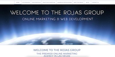 The Rojas Group website