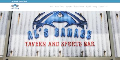Als Garage Las Vegas Website by The Rojas Group