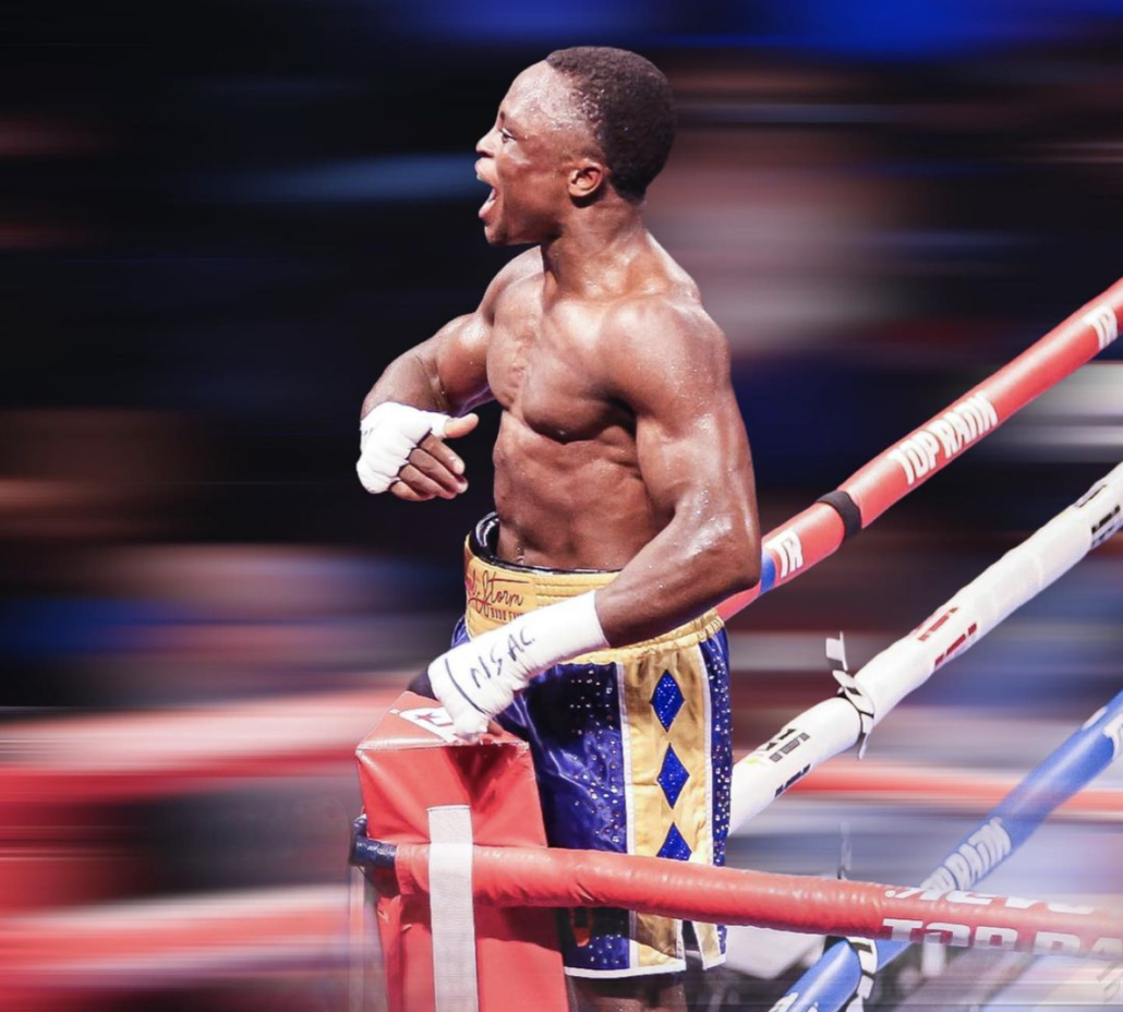 Top Rank Boxer photo by The Rojas Group